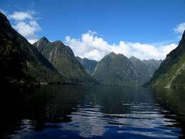 Photo of Fiordland & Milford Sound Doubtful Sound Wilderness Cruise from Te Anau Peaceful in the sound