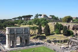 Photo of Rome Small-Group Ancient Rome and Colosseum Tour: Underground Chambers, Arena and Upper Tier Roman Forum and Palatine Hill