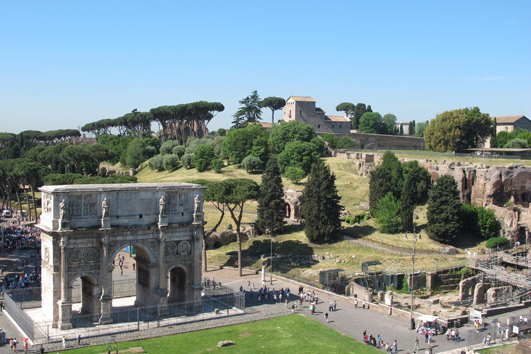 Roman Forum and Palatine Hill - Rome