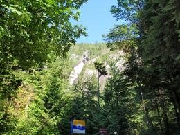 Photo of Vancouver Vancouver to Whistler by Train Rail Tour Shannon Falls