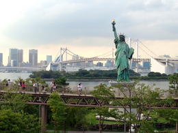 Photo of   Statue of Liberty near Rainbow Bridge