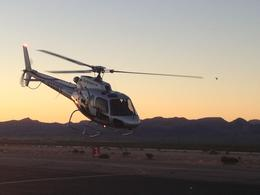 Photo of Las Vegas Grand Canyon West Rim Luxury Helicopter Tour Sunrise Take-off