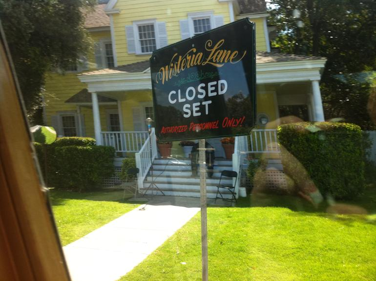 The clsoed set of Wisteria Lane from Desperate Housewives - Los Angeles