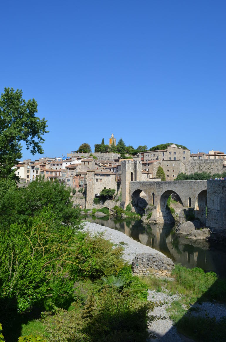 The enchanting village of Besalu - Barcelona