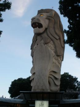 The merlion on Sentosa Island, Nichole N - August 2009
