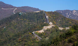 Photo of Beijing Great Wall of China at Mutianyu Full Day Tour including Lunch from Beijing The wall, looking west