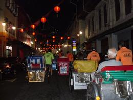 Photo of Singapore Singapore's Chinatown Trishaw Night Tour Trishaw ride through Chinatown