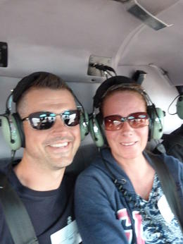 Never thought in a million years that I would be brave enough to get in a helicopter, but here I am! One of the best experiences of my life. , dollyxdimple - November 2014