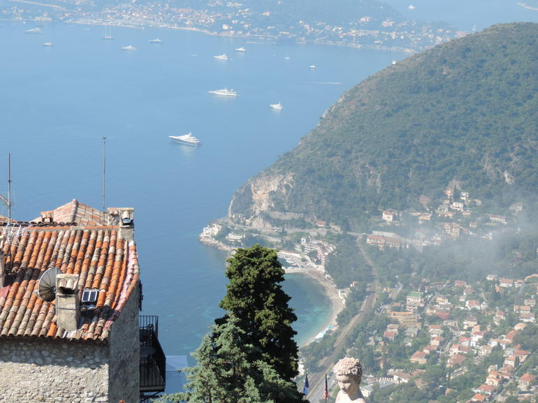 View from the top at Eze - Nice
