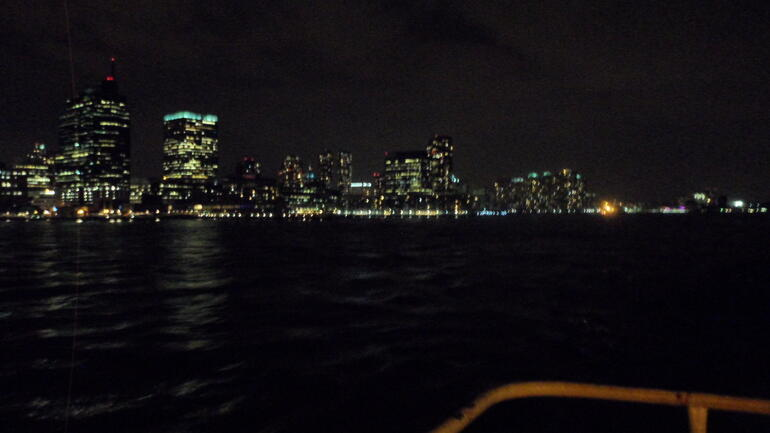 Views from the yacht - New York City