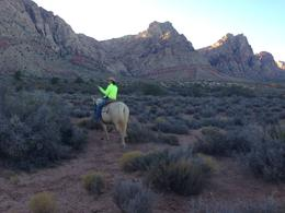 Photo of Las Vegas Wild West Sunset Horseback Ride with Dinner Wrangler Lydia