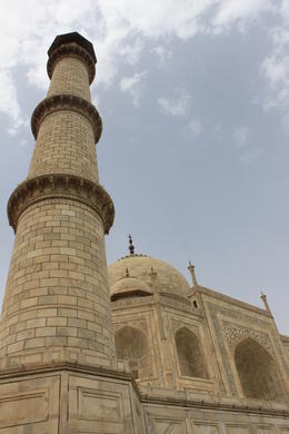 A different perspective on the Taj Mahal - September 2012