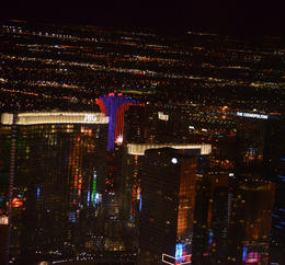 Photo of Las Vegas Las Vegas Strip Night Flight by Helicopter with Transport City Center