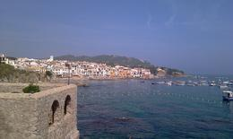This is the coastal town in Costa Brava, Spain. , Rigoberto R - November 2012