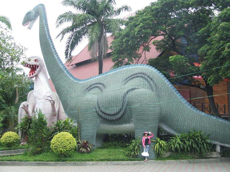 Dinosaurs at Dam Sen Park - Ho Chi Minh City