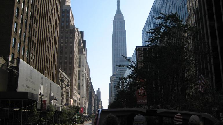 Empire State Building and Macy's - New York City