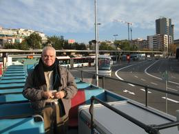 Photo of Barcelona Barcelona Hop-on Hop Off Tour: North to South Route Enjoying Barcelona on Viator's bus