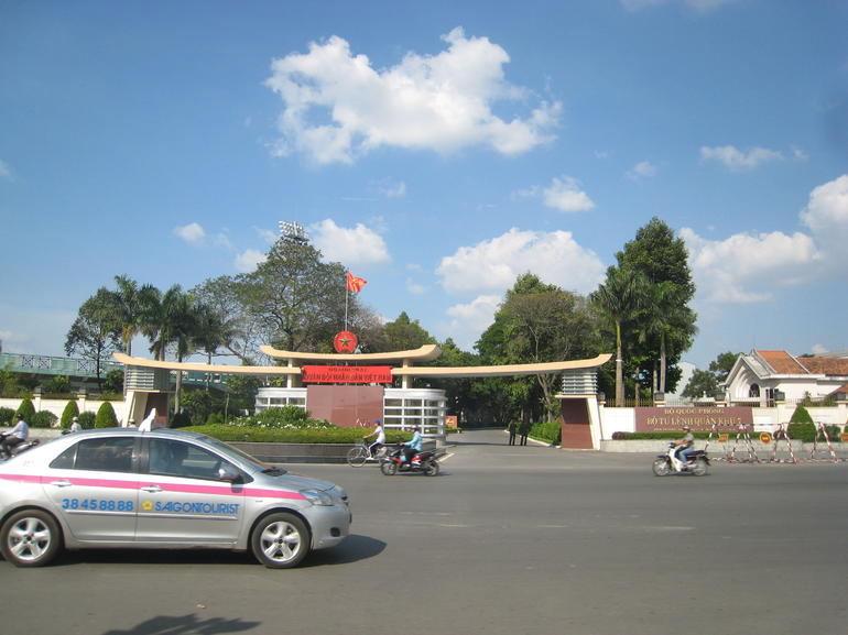 Entrance of the old American Army Base - Ho Chi Minh City