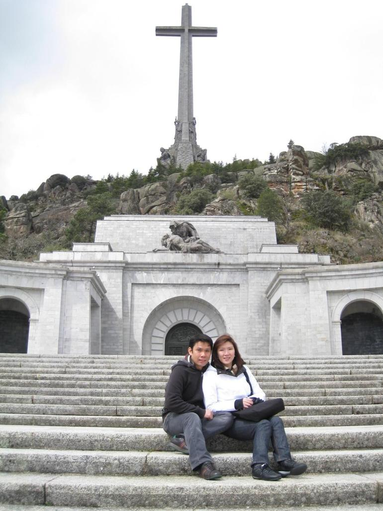 Front View of the Valley of the Fallen - Madrid