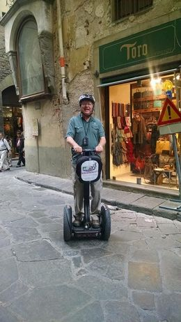 This is me, a 78 year old man who had a great time on the Segway! , David H - September 2015