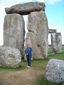 How cool is it to be able to walk right up to the stones within the inner circle? How many people will be able to say that in their lifetime???, Rebecca F - August 2010