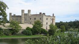 The Castle is set in a beautiful place, surrounded by water, Janet S - August 2010