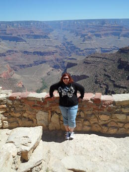 Photo of Las Vegas Deluxe Grand Canyon South Rim Airplane Tour Me at the South Rim