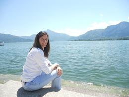 After visiting the beautiful Mondsee Cathedral where the wedding was shot for the movie, we went to the beautiful lake and ate some wonderful ice cream. Great day!, Pat G - June 2010