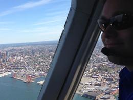 Photo of New York City Manhattan Sky Tour: New York Helicopter Flight My friend, the pilot