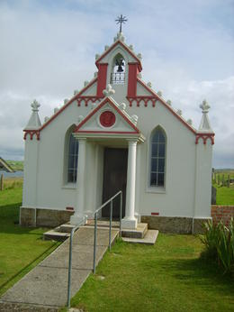 Italian Chapel near Scapa Flow - Orkney , RICHARD G - September 2012