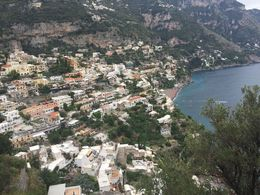 View overlooking Positano , Kimberly K - January 2016