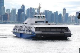 This is the Seabus which connects North Vancouver with downtown Vancouver., Jennifer H - September 2009