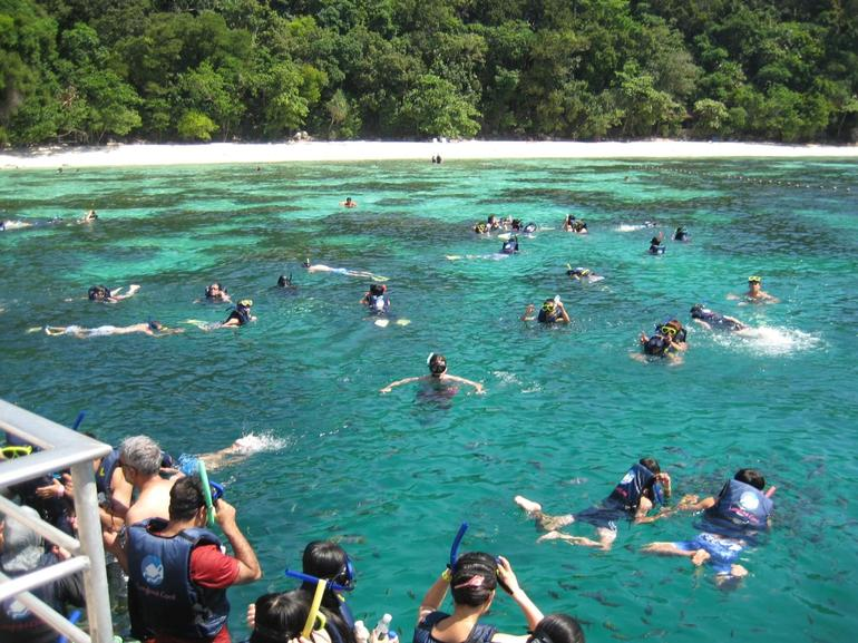 Snorkeling at sea - Penang