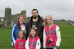 family at stonehenge , Holly R - November 2015