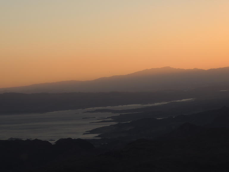 Sunset over Lake Mead - Las Vegas