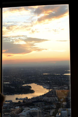 Photo of Sydney Sydney Tower Restaurant Buffet Sunset view