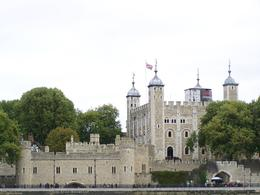 View of the Tower of London from the boat., William L - January 2010
