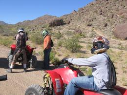 Photo of Las Vegas Hidden Valley and Primm ATV Tour Water Break!