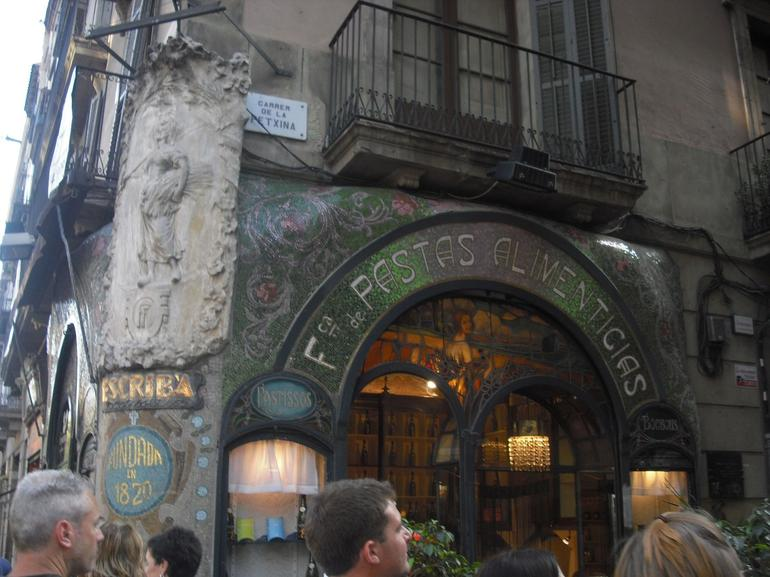 An old, famous restaurant - Barcelona