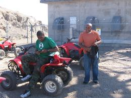 Photo of Las Vegas Hidden Valley and Primm ATV Tour Break at the Top of Mountain