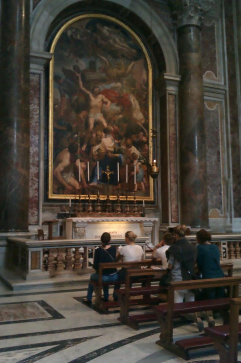 Buriel tomb of Pope John Paul II - Rome