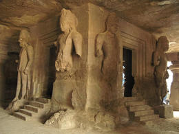 Inside the Elephanta Caves - August 2012
