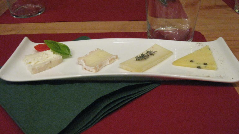 Florence cheese and wine pairing - Florence