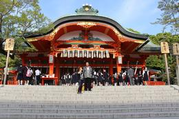 Our first time visiting a shrine, it was beautiful one , Tinnike - May 2013