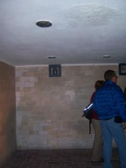 Photo of Munich Dachau Concentration Camp Memorial Small Group Tour from Munich Gas shower rooms