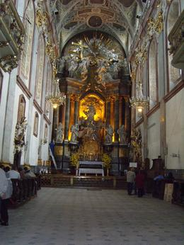 Photo of Krakow Pieskowa Skala Castle and Czestochowa including the 'Black Madonna' Day Tour from Krakow Inside externsion of church