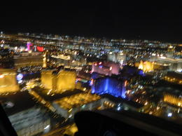 Photo of Las Vegas Las Vegas Strip Night Flight by Helicopter with Transport Night over Vegas