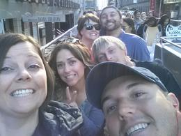 Getting ready to ride the double decker bus around NYC! , Melissa U - September 2013
