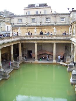 This is the largest of the Roman baths., Rebecca F - August 2010