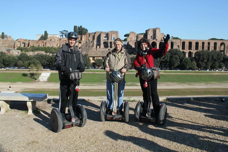 Segwaying in Rome - Rome